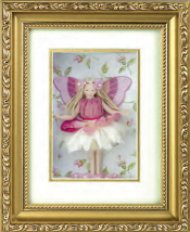 ROSE FAIRY SHADOW BOX