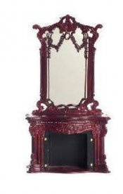 Dollhouse Miniature 1/12 scale BESPAQ 'BELLE MOUNT' FIREPLACE