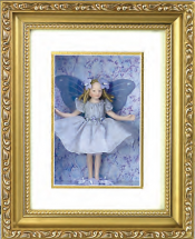 BLUE FAIRY SHADOW BOX