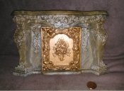 Dollhouse Miniature 1/12 scale LARGE ORNATE FIREPLACE